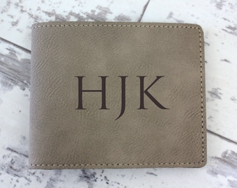 Wallet - Men's Personalized Leather Wallet