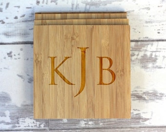 Monogram Coaster Set - Monogram - Set of 4