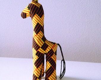 Giraffe #01152_Small size_ made by Ugandan Disabled Women