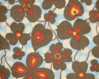 1 Yard Amy Butler Morning Glory Linen Fabric