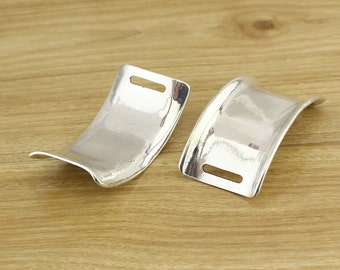 Wide bracelet charm, Leather bracelet supply, Zamak cuff, Bracelet cuff , ETS-K200
