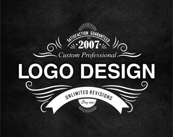Logo Design, Custom Logo Design (5 Concepts)