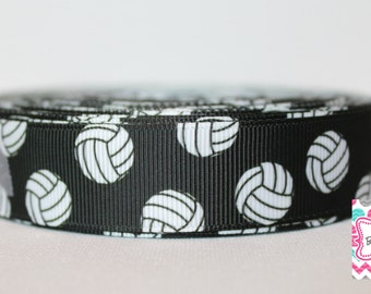 Volleyball 7/8 Grosgrain Ribbon