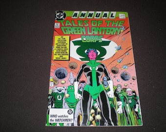 Tales of the Green Lantern Corps Annual 3, (1987), DC C06