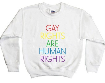 Gay Rights Are Human Rights  -- Youth Sweatshirt