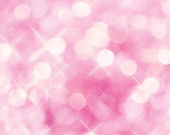 Pink Bokeh Photography Backdrop For Portraits, Studio Shoots, Themed Parties, & Photo Booths (FD0003)