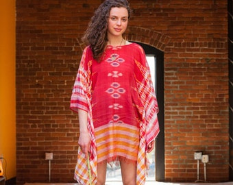 Tribal Poncho Dress