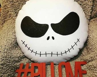 Jack Skeleton Pillow