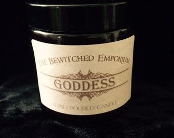 Goddess soy jar candle