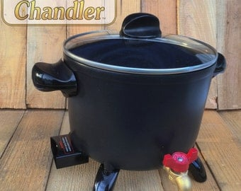 Professional  Wax Melting  Pot (Large 5 Quart) w/Easy Spout and 1/2 pound beeswax!