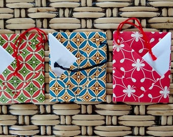 Origami Cards, 3-Card Pack, Hartino OCL6 • FREE Shipping