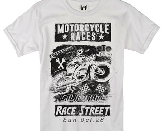 Motorcycle Races Men's T-Shirt (SB921)