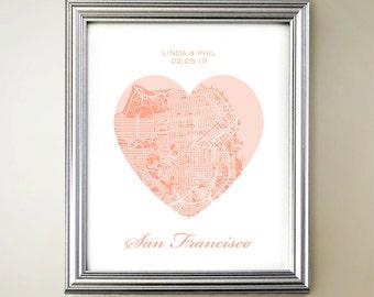 San Francisco Heart Map