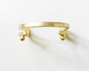Raya Brass Cuff