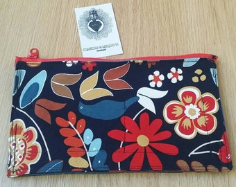 Handmade clutch bag-purse-handmade