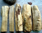 "Palo Santo Logs (AA Grade) Jumbo 5-7"" Holy Wood. Thick. (Choose Lrg/XL/Jumbo)  Calm/Cleanse/Bless. Soul Retrieval. Peru Shaman Wood Incense"