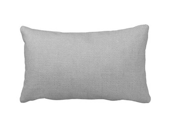 Grey Pillow Cover Gray Pillow Cover Grey Lumbar Pillows Grey Throw Pillow Covers Solid Grey Pillows Decorative Pillows for Couch Cushions