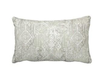 Grey Throw Pillow Cover Grey Pillow Cover Gray Pillow Cover Grey Lumbar Pillows Tribal Pillows Aztec Decor Tribal Decor Decorative Pillows