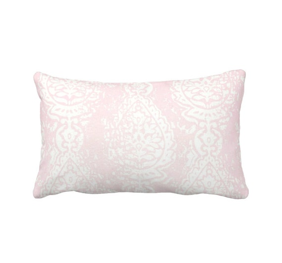 Blush Pink Decorative Pillow : Blush Pink Pillow Cover Pink Throw Pillow Cover Pink Lumbar