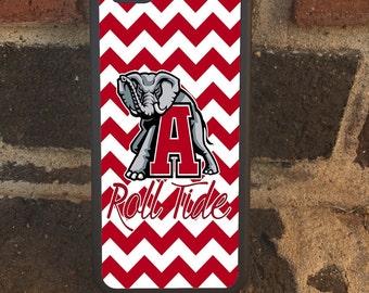 Alabama Crimson Tide  iPhone  7/ 7 plus 6/6s, 6Plus/S, 5/5s & Samsung Galaxy S6, S5, s7, Note 4, 5, 7 Ultra Thin phone case!!