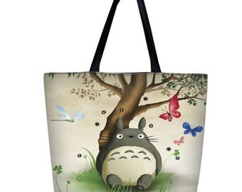 Totoro Ready-Set-Go Tote Bag