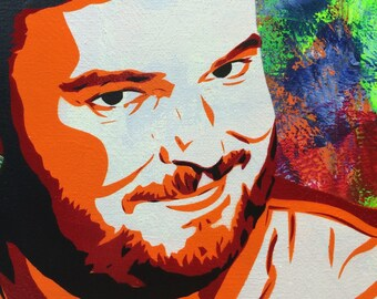 Jon Gabrus - Ready to Hang Art on Stretched Canvas