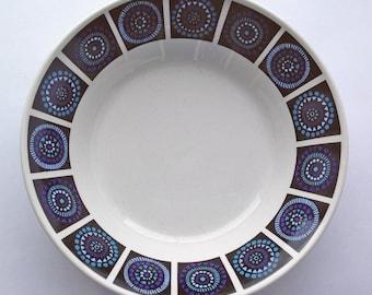 Midwinter Breakfast / Dessert Bowl. Madeira Pattern by Nicholas Jenkins. Mid Century Modern, 1960s bowl