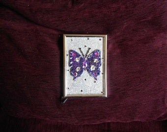 Butterfly in photo frame