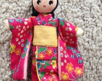 Asian Pose Doll