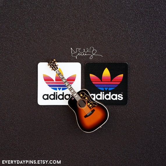 noel gallagher 39 s colorful retro adidas stickers. Black Bedroom Furniture Sets. Home Design Ideas