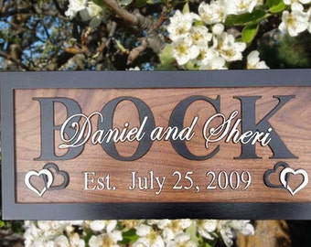 Custom Wedding Gift for Couple Custom Wood Sign Personalized Family Name Sign Bride To Groom Gift Personalized Wood Sign Groomsman Gift BF1