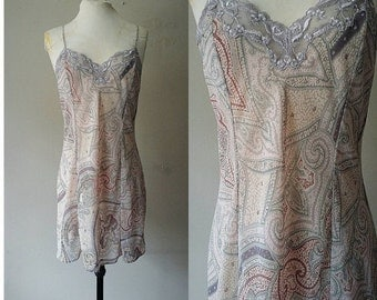 Sale / 40% Off / M / Victoria Secret Chiffon Chemise Slip Dress Lingerie / Medium / FREE Shipping