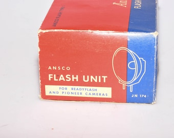 Ansco Flash Type 1 (Readyflash/Pioneer) Flash Gun In Original Box