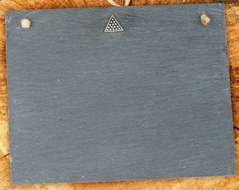 Snooker Design Slate Chalk Board Messages, Lists , Tally Chart, Reminders Snooker Gift
