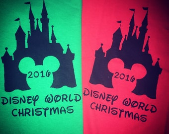 Christmas Disney Vacation Shirt - Matching Family Shirts - Disney Christmas Family Shirts - Disney Home Shirt - Christmas Sweater