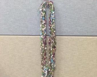 Crochet Necklace and Bracelet Set