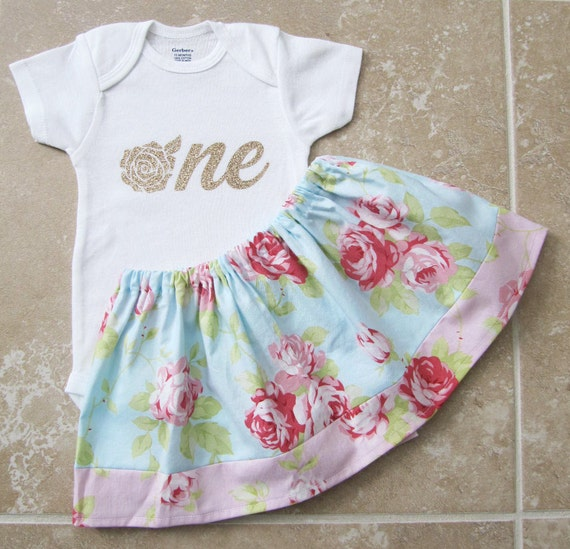Shabby chic first birthday outfit in tanya by noellebydesign - Shabby chic outfit ideas ...