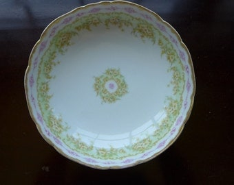 Footed Bowl Limoges Etsy