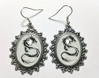 """Earrings """"Tribal Dragon"""""""