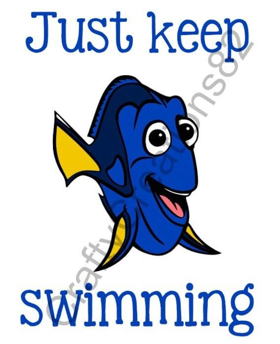 Just Keep Swimming | pinkdustydreams |Just Keep Swimming