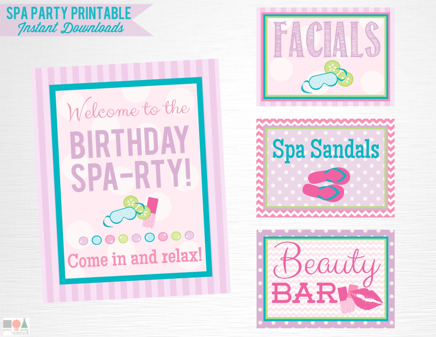 This is a photo of Stupendous Party Signs Printable
