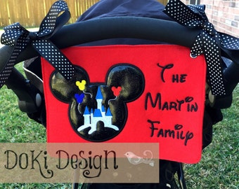 Embroidered Stroller Tag