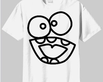 Silly Face - Mouth T-Shirts For the Whole Family