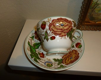 Vintage Surrey Wedgwood Teacup And Saucer Made In England