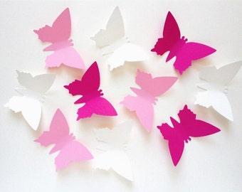 "25 paper butterflies ""Rosi"""
