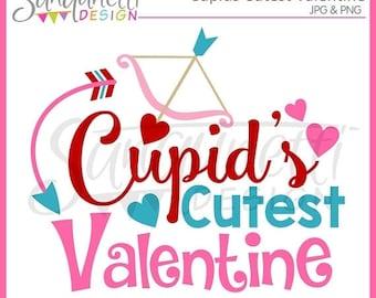 50% OFF SALE Valentine Clipart, Valentine Lettering, Cupid Clipart, Valentine clip art, Lettering Clipart, Instant Download