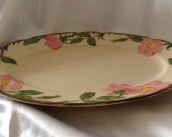 """Vintage Franciscan """"Desert Rose"""" Medium Serving Platter - Made in USA - 1953 to 1958"""