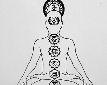 Chakra Alignment Decal