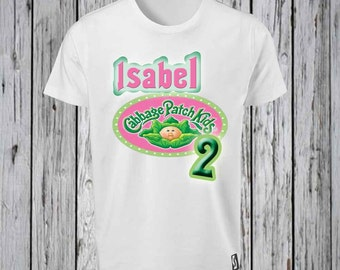 Cabbage Patch Number Birthday   Iron Tshirt Design FILE ONLY!