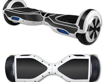 Skin Decal Wrap for Self Balancing Scooter Hoverboard unicycle Carbon Fiber